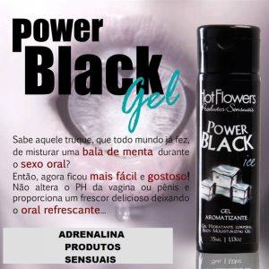 Gel Power Black Ice
