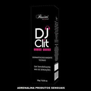 DJ CLIT DEIXE TOCAR EXCITANTE FEMININO 15G